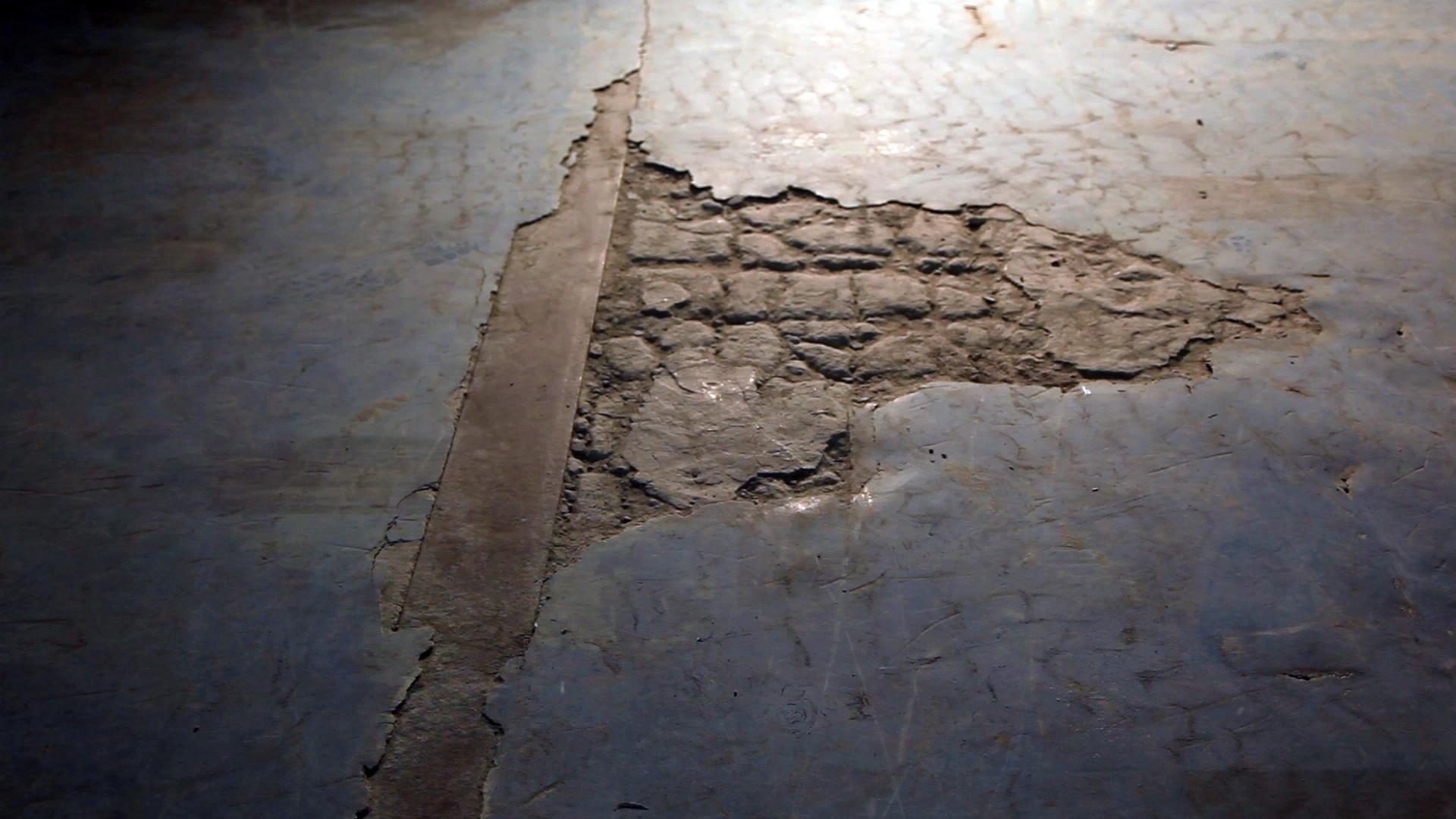 Выбоины итрещины вбетонном полу
