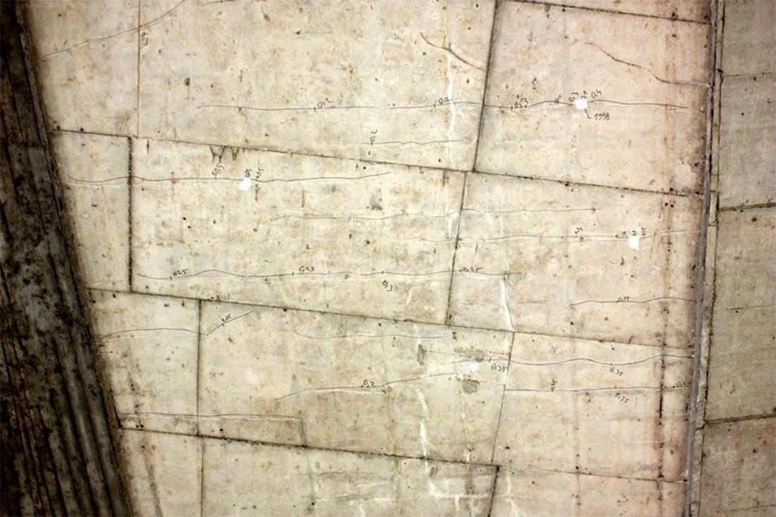 Трещины в бетонных конструкциях
