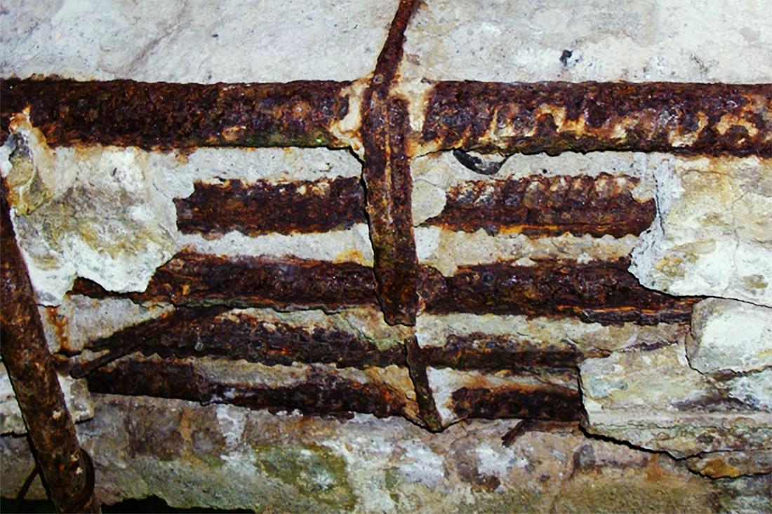 Коррозия арматуры в бетоне