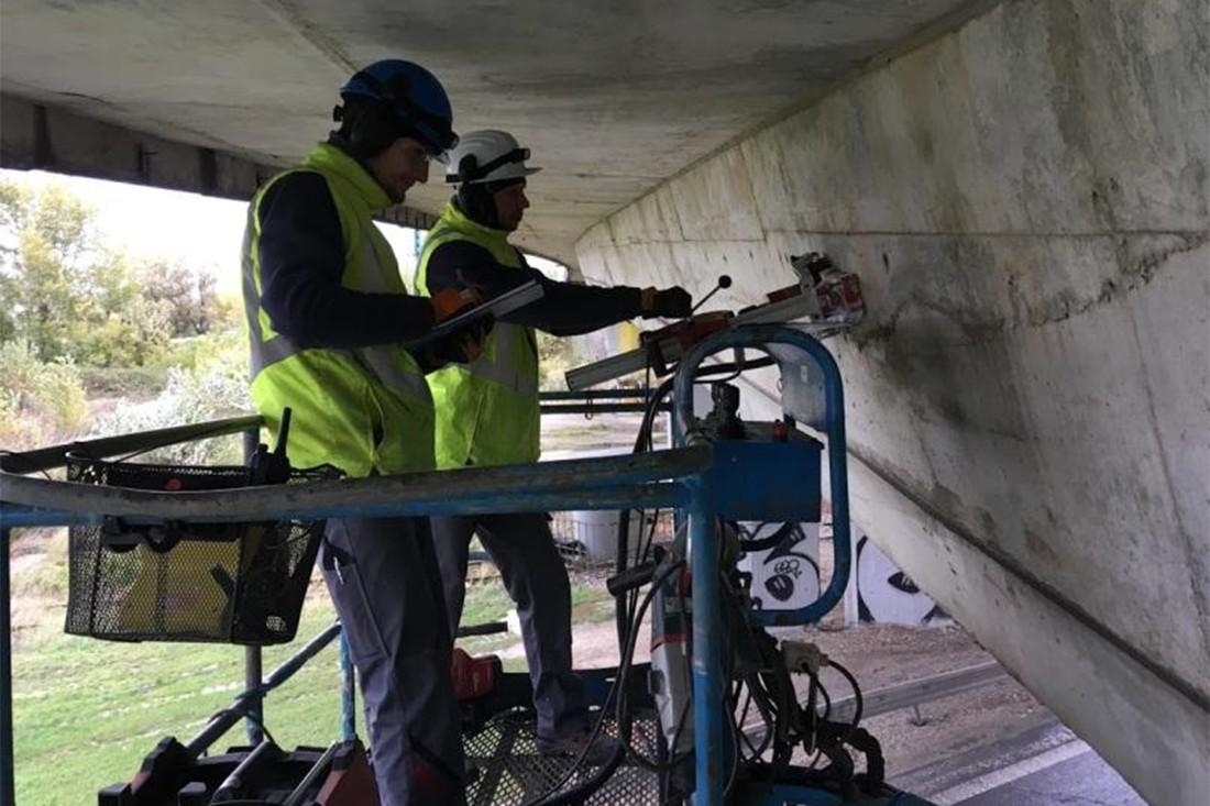 Отбор образцов бетона для испытаний