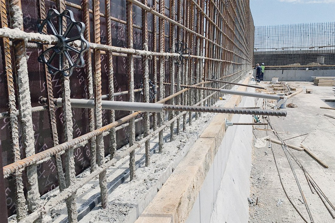 Процесс строительства биореактора