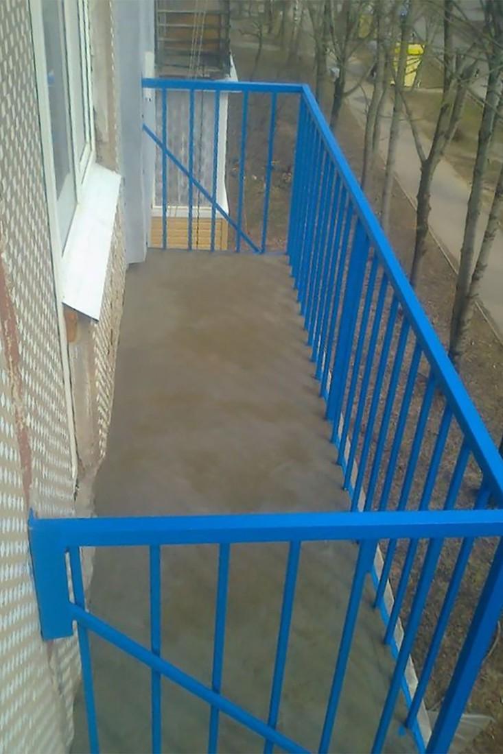 Внешний вид балкона после ремонта